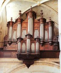 Buffet de l'ancien orgue Clicquot