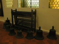 Clavier de carillon et cloches