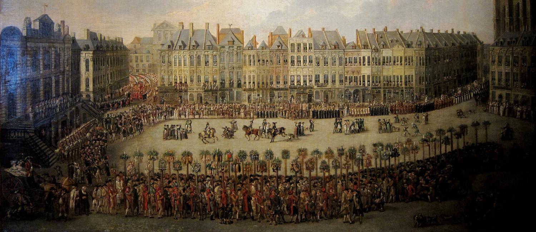 La procession en l'honneur de Notre-Dame de la Treille à Lille
